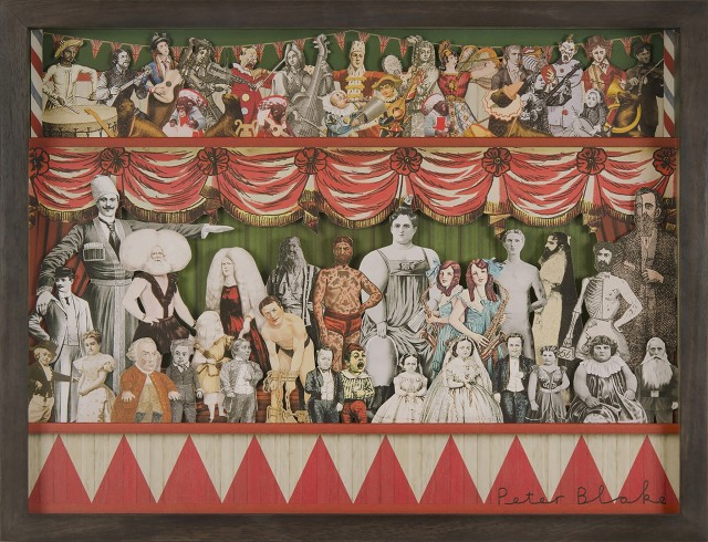 <p><span class=&#34;artist&#34;><strong>Sir Peter Blake</strong></span>, <span class=&#34;title&#34;><em>Circus II</em></span></p>