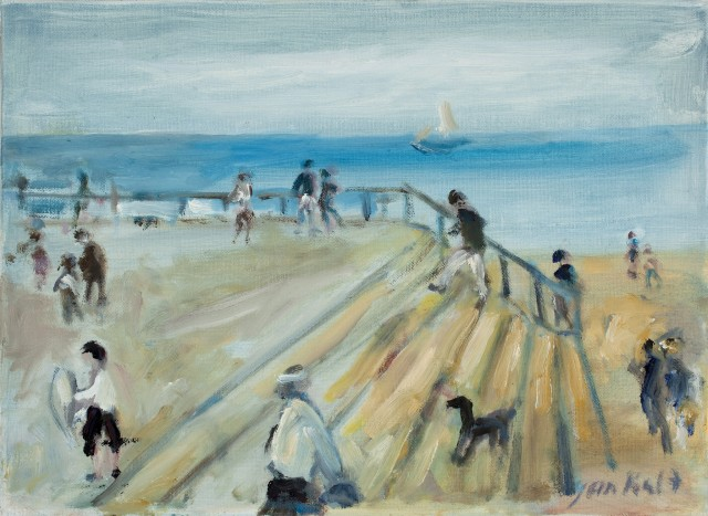 <span class=&#34;artist&#34;><strong>Yankel Feather</strong></span>, <span class=&#34;title&#34;><em>Brighton Seafront</em></span>