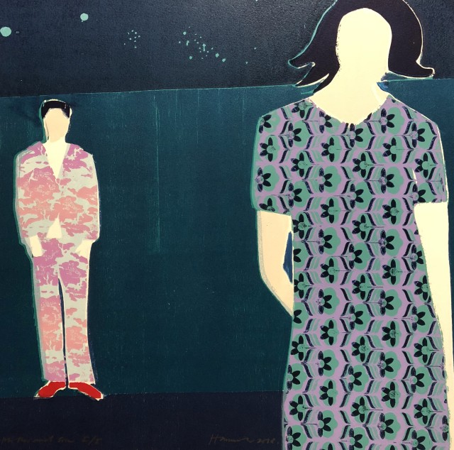 Tom Hammick, Mother and Son, 2018