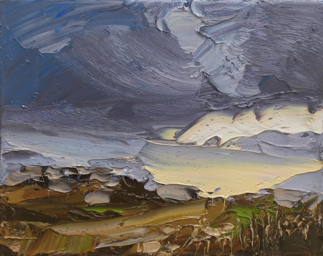 <span class=&#34;artist&#34;><strong>Colin Halliday</strong></span>, <span class=&#34;title&#34;><em>Stormy Skies</em>, 2014-15</span>