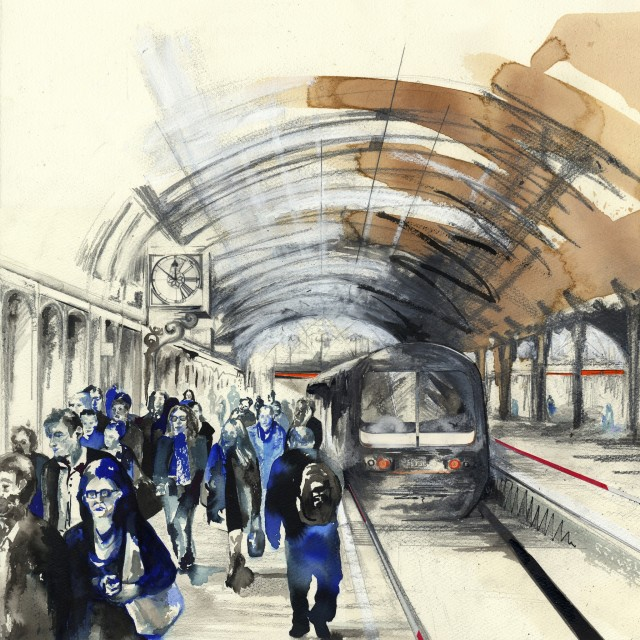 Lily Forwood, Paddington Station IV, 2015