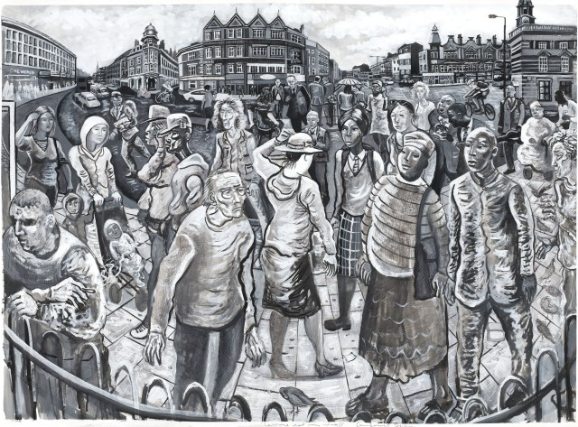 <span class=&#34;artist&#34;><strong>Ed Gray</strong></span>, <span class=&#34;title&#34;><em>On Camberwell Green (Monochrome)</em>, 2011</span>