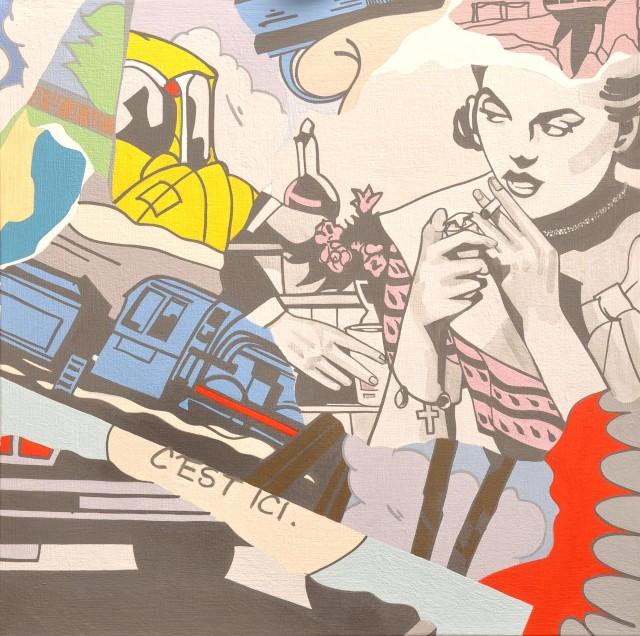 <span class=&#34;artist&#34;><strong>Chris Poulton</strong></span>, <span class=&#34;title&#34;><em>A Week is Not Enough</em>, 2015</span>