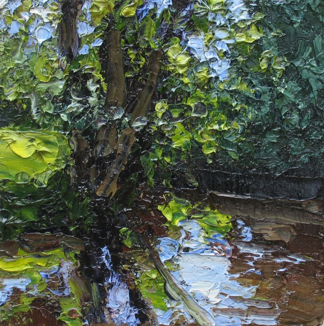 <span class=&#34;artist&#34;><strong>Colin Halliday</strong></span>, <span class=&#34;title&#34;><em>Summer River Study</em>, 2014-15</span>