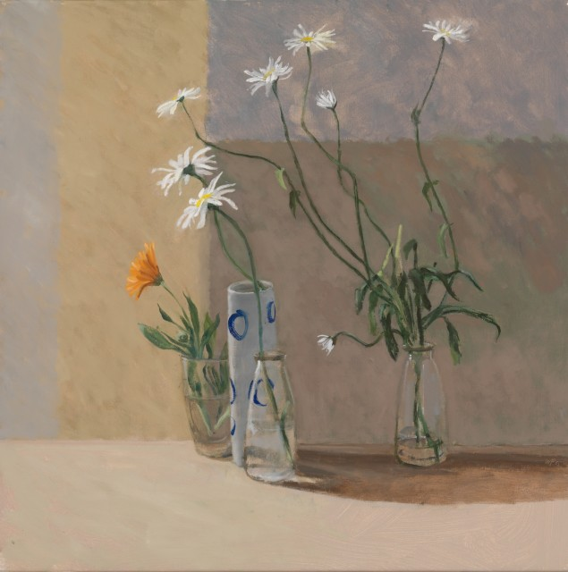 William Packer, Dancing Daisies, 2012