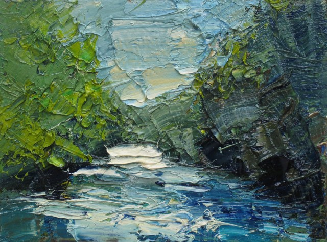 <span class=&#34;artist&#34;><strong>Colin Halliday</strong></span>, <span class=&#34;title&#34;><em>River Study</em>, 2014-15</span>