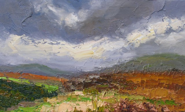 <span class=&#34;artist&#34;><strong>Colin Halliday</strong></span>, <span class=&#34;title&#34;><em>Autumn Sky and Moor</em>, 2014-15</span>
