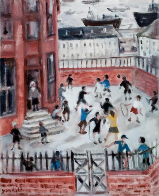 <span class=&#34;artist&#34;><strong>Yankel Feather</strong></span>, <span class=&#34;title&#34;><em>Harrington Board School</em></span>