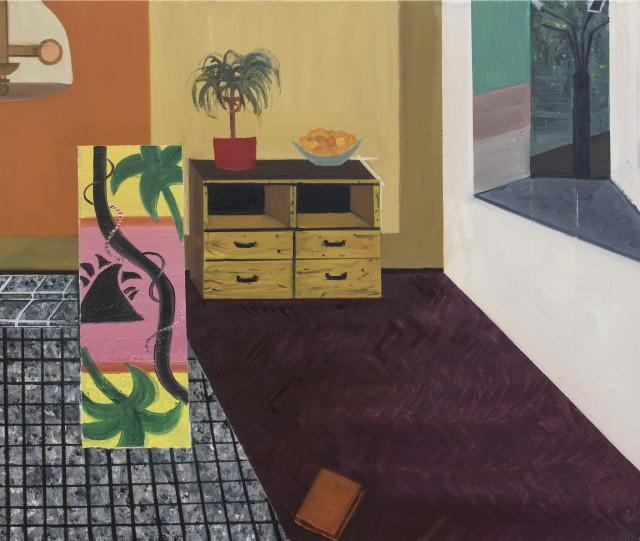 Jessica Windhorst, Feldmarkweg Living Room II, 2015
