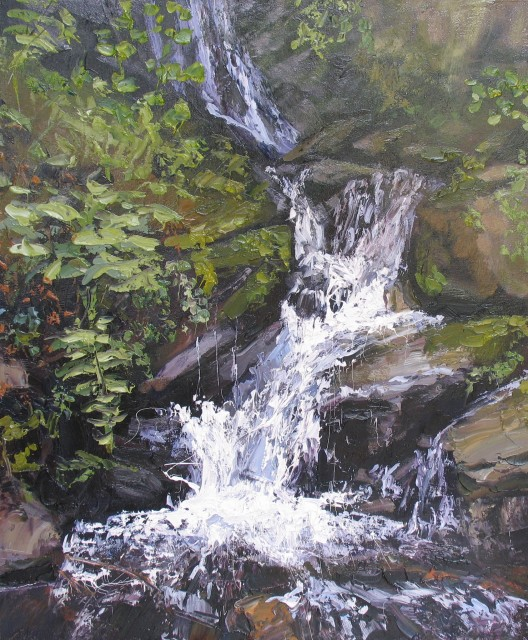 <span class=&#34;artist&#34;><strong>Colin Halliday</strong></span>, <span class=&#34;title&#34;><em>Waterfall</em>, 2013-14</span>