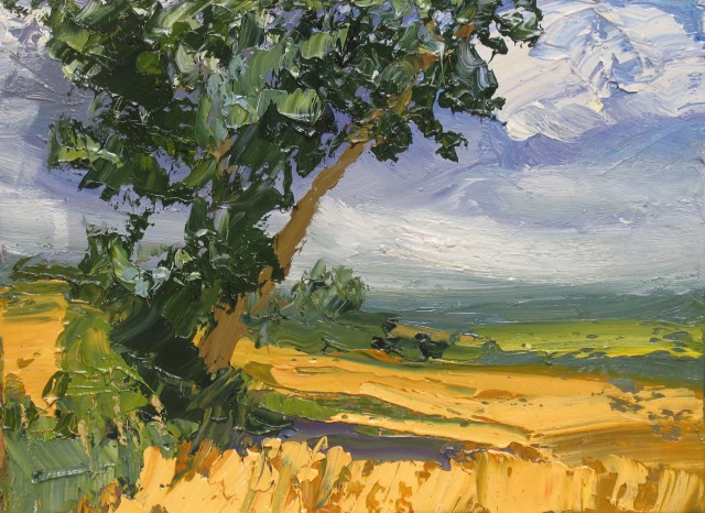 <span class=&#34;artist&#34;><strong>Colin Halliday</strong></span>, <span class=&#34;title&#34;><em>Summer Cornfield</em>, 2013-14</span>