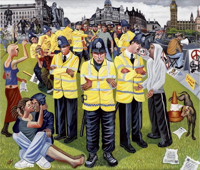<span class=&#34;artist&#34;><strong>Ed Gray</strong></span>, <span class=&#34;title&#34;><em>'Nothing to See, Hear!', Whitehall</em>, 2007</span>