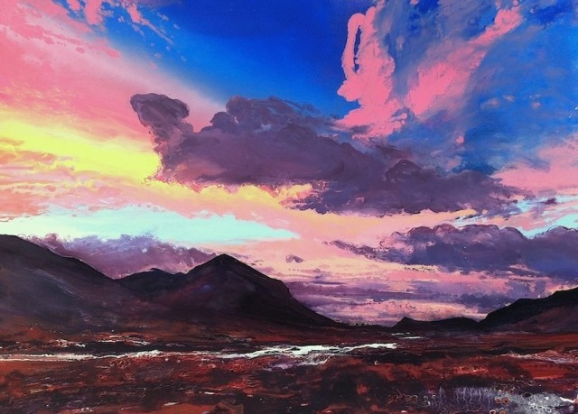 <span class=&#34;artist&#34;><strong>Michael Sole</strong></span>, <span class=&#34;title&#34;><em>The Cuillins No.2</em>, 2014</span>