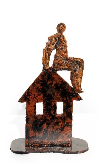 <span class=&#34;artist&#34;><strong>Randy Klein</strong></span>, <span class=&#34;title&#34;><em>Roof</em>, 2013</span>