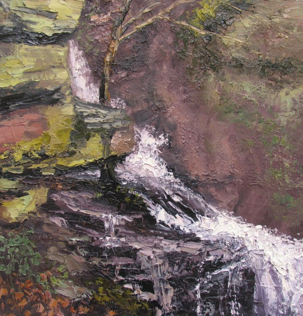 <span class=&#34;artist&#34;><strong>Colin Halliday</strong></span>, <span class=&#34;title&#34;><em>Hidden Waterfall</em>, 2014-15</span>