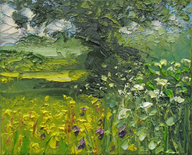 <span class=&#34;artist&#34;><strong>Colin Halliday</strong></span>, <span class=&#34;title&#34;><em>Buttercups and Cow Parsley</em>, 2014-15</span>