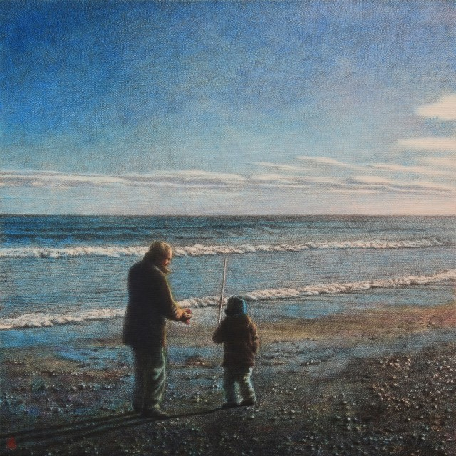 <span class=&#34;artist&#34;><strong>Hideyuki Sobue</strong></span>, <span class=&#34;title&#34;><em>Father and Son</em></span>