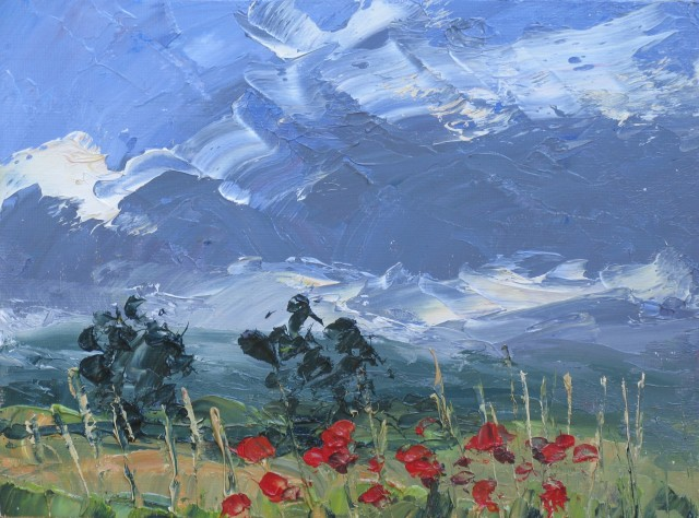 <span class=&#34;artist&#34;><strong>Colin Halliday</strong></span>, <span class=&#34;title&#34;><em>Poppies</em>, 2013-14</span>
