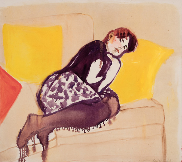 Roberta Kravitz, Holly on Sofa (1)