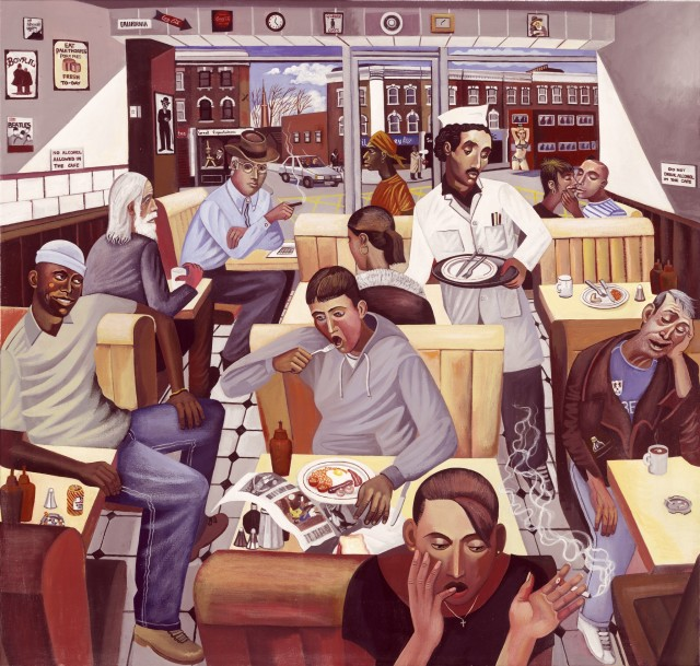 <span class=&#34;artist&#34;><strong>Ed Gray</strong></span>, <span class=&#34;title&#34;><em>Full English, Rock Steady Eddie's, Camberwell</em>, 2006</span>