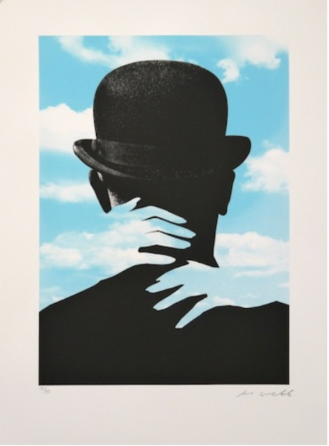 <span class=&#34;artist&#34;><strong>Joe Webb</strong></span>, <span class=&#34;title&#34;><em>Embrace Magritte</em>, 2015</span>