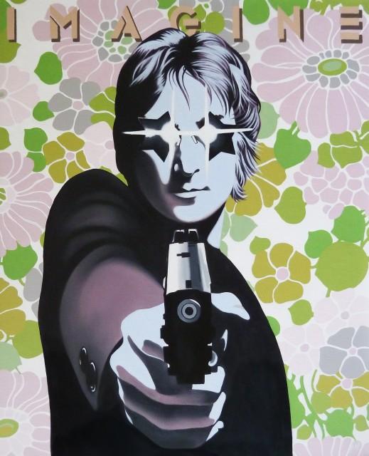 Alain Magallon, Imagine (John Lennon), 2014