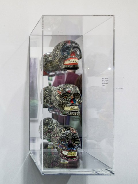 Marie Petrovic, Skulls (Set of 3) #4, 2014