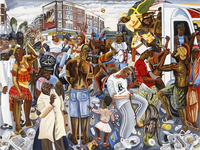 <span class=&#34;artist&#34;><strong>Ed Gray</strong></span>, <span class=&#34;title&#34;><em>I am Bachanal, Notting Hill Carnival</em>, 2011-12</span>