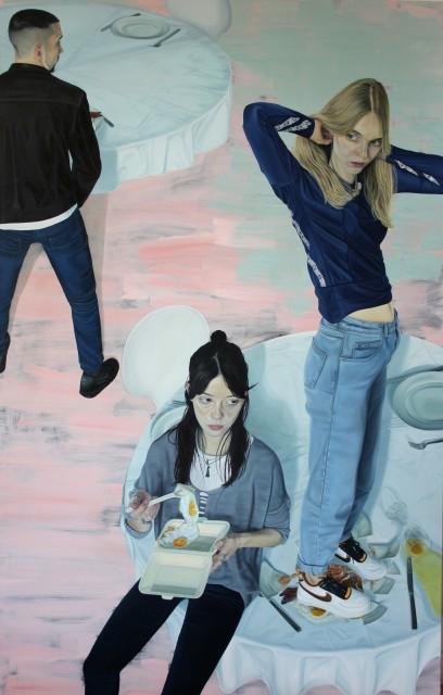 <span class=&#34;artist&#34;><strong>Tristan Pigott</strong></span>, <span class=&#34;title&#34;><em>Pink Breakfast</em>, 2014</span>