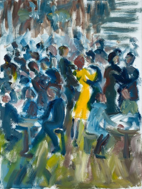 <span class=&#34;artist&#34;><strong>Yankel Feather</strong></span>, <span class=&#34;title&#34;><em>Yellow Dress</em></span>