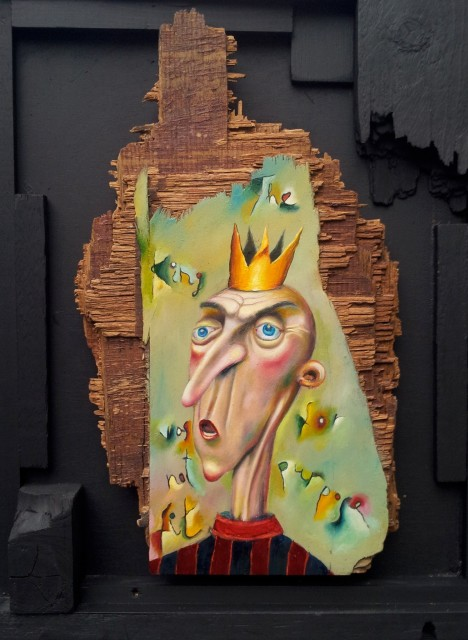 <span class=&#34;artist&#34;><strong>Carlos Cortes</strong></span>, <span class=&#34;title&#34;><em>The King was not fit for purpose</em>, 2015</span>