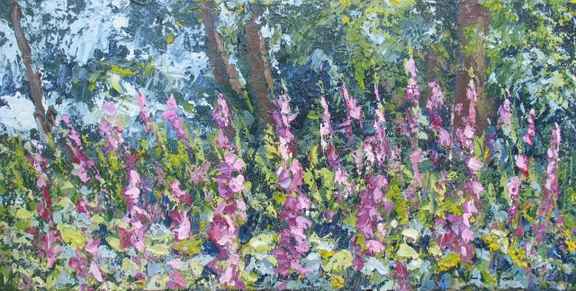 <span class=&#34;artist&#34;><strong>Colin Halliday</strong></span>, <span class=&#34;title&#34;><em>Foxgloves</em>, 2013-14</span>