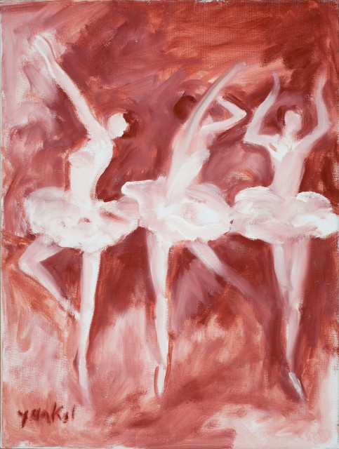 <span class=&#34;artist&#34;><strong>Yankel Feather</strong></span>, <span class=&#34;title&#34;><em>Dancers in the Pink</em></span>