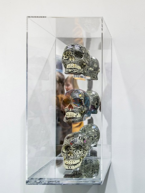Marie Petrovic, Skulls (Set of 3) #3, 2014