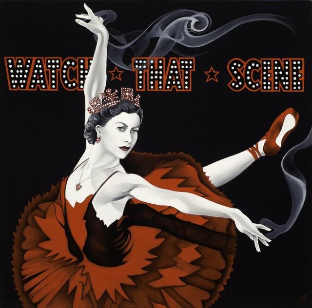 <span class=&#34;artist&#34;><strong>Alain Magallon</strong></span>, <span class=&#34;title&#34;><em>Watch That Scene</em>, 2015</span>