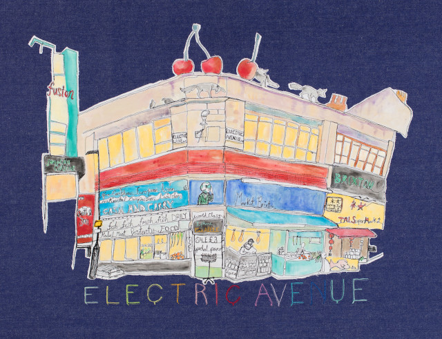Harriet Riddell, ELECTRIC AVENUE, 2017