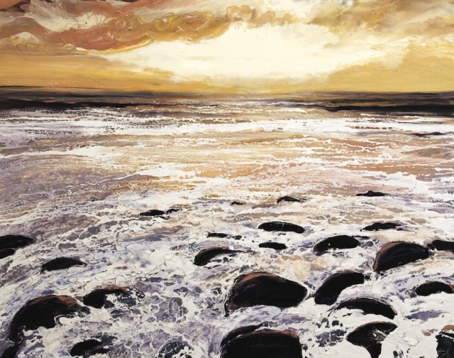 <span class=&#34;artist&#34;><strong>Michael Sole</strong></span>, <span class=&#34;title&#34;><em>North Wales Sea and Sky</em>, 2014</span>