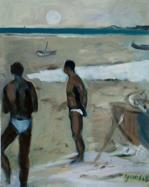 <span class=&#34;artist&#34;><strong>Yankel Feather</strong></span>, <span class=&#34;title&#34;><em>Evening at Hale</em></span>