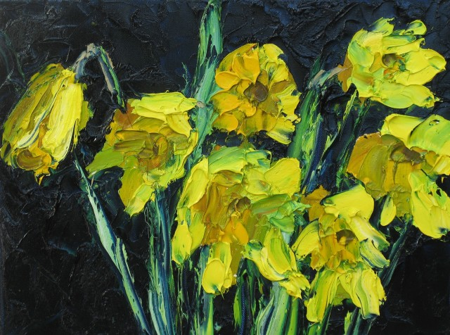 <span class=&#34;artist&#34;><strong>Colin Halliday</strong></span>, <span class=&#34;title&#34;><em>Daffs</em>, 2014-15</span>