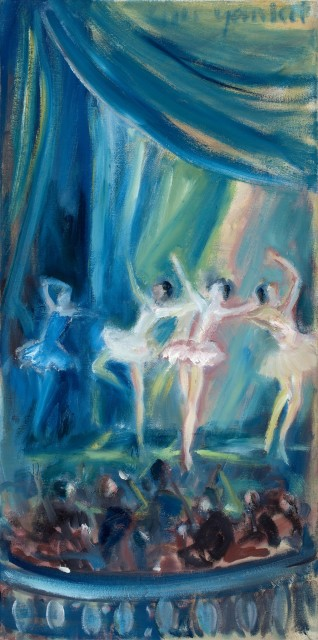 <span class=&#34;artist&#34;><strong>Yankel Feather</strong></span>, <span class=&#34;title&#34;><em>Ballet from the Box</em></span>