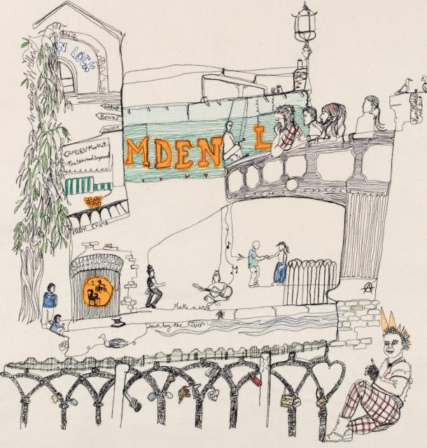 'Love Lock' Camden Town