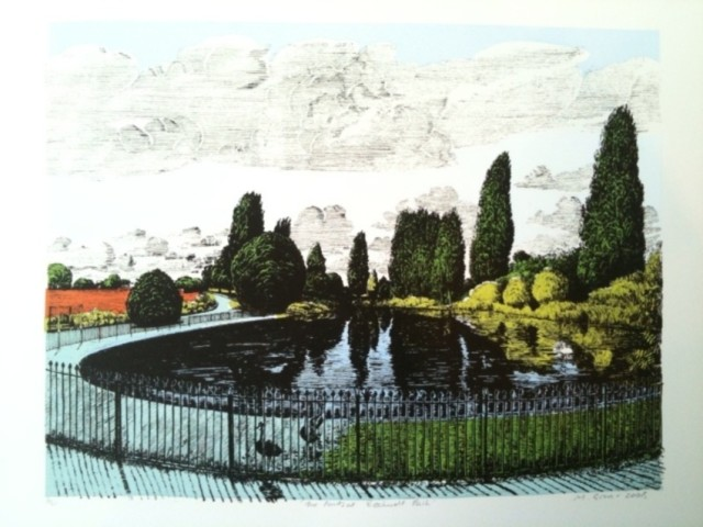 Martin Grover, Ponds at Brockwell Park