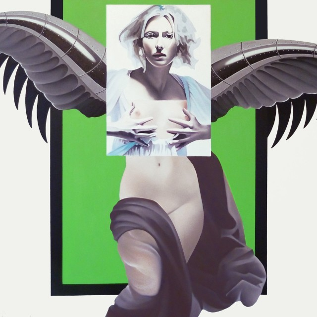 <span class=&#34;artist&#34;><strong>Alain Magallon</strong></span>, <span class=&#34;title&#34;><em>Ice Queen (Tilda Swinton)</em>, 2014</span>