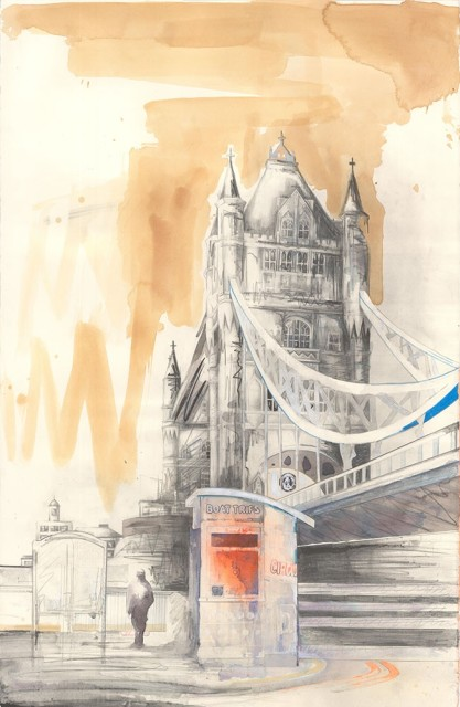 Lily Forwood, Tower Bridge II, 2014