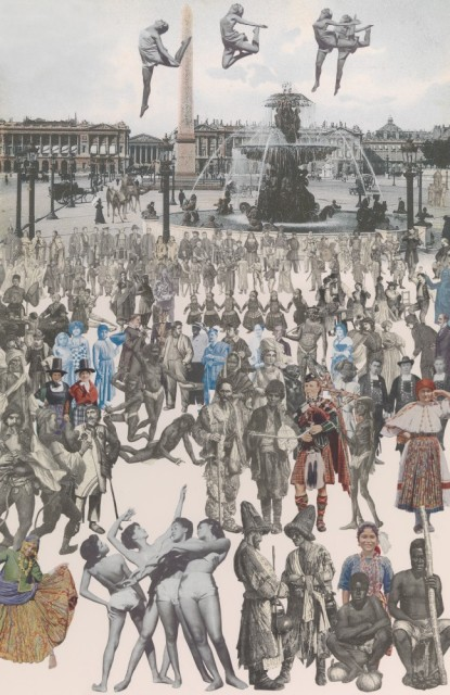 Sir Peter Blake, Dancing, Place de la Concorde