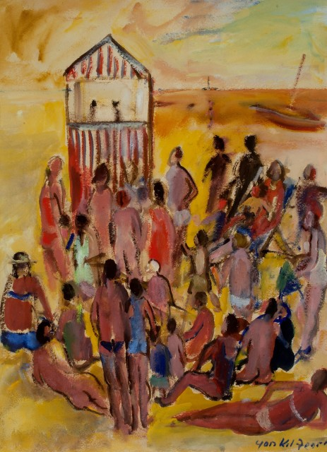 <span class=&#34;artist&#34;><strong>Yankel Feather</strong></span>, <span class=&#34;title&#34;><em>Punch & Judy, St Ives</em></span>