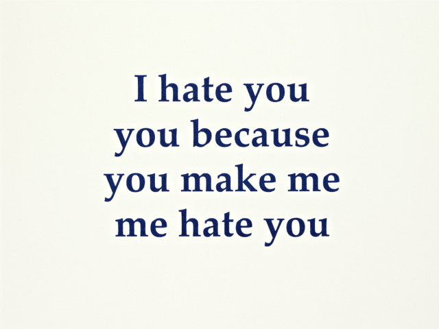 Adam McEwen, I hate you, 2010