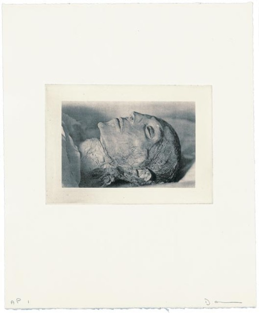 David Austen, Sleeping head, 2006