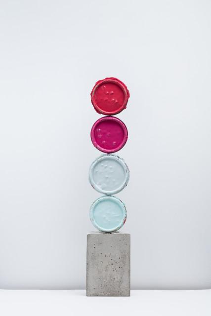 <span class=&#34;artist&#34;><strong>David Batchelor</strong></span>, <span class=&#34;title&#34;><em>Geo-Concreto 03</em>, 2018</span>