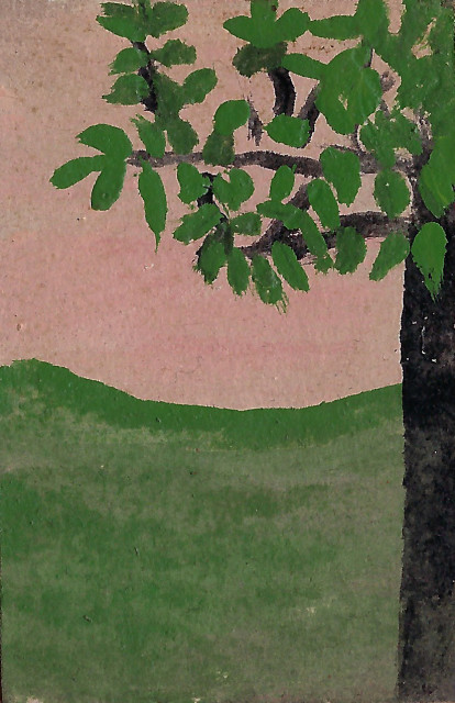 Frank Walter, Tree with Green Leaves